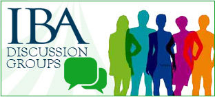 IBA Discussion Groups
