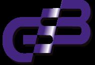 Purple GSB logo letters