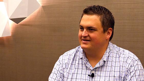 Brock Goggins speaking about career