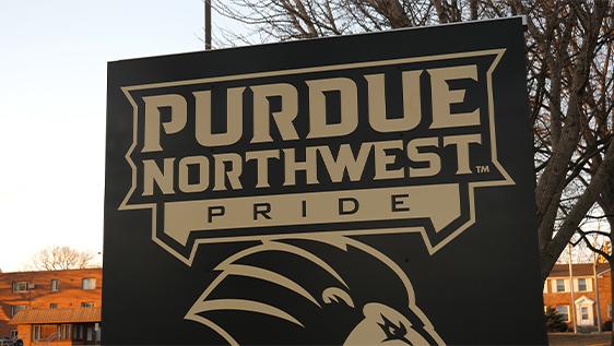 Purdue Northwest sign
