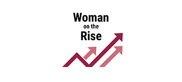 Woman on the Rise Award logo