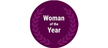 Woman of the Year Award logo